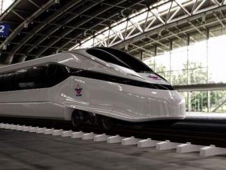 تستمر عملية التصميم في مشروع القطار الكهربائي فائق السرعة الوطني