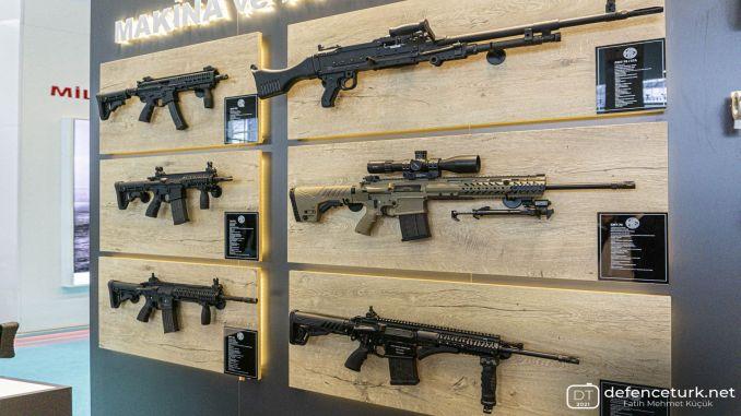 Η mkek παρουσίασε τα νέα της όπλα στην έκθεση αποδοτικότητας και τεχνολογίας