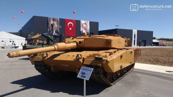 modernized leopard horse tanks are at the service of mehmetcik