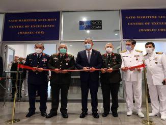 優れたコマンドのNATO海事セキュリティセンターが開設されました