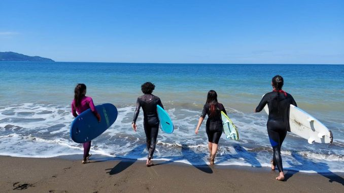 wave surf training started in the army