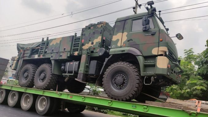delivery of trg tiger missile from rocketsan to bangladese