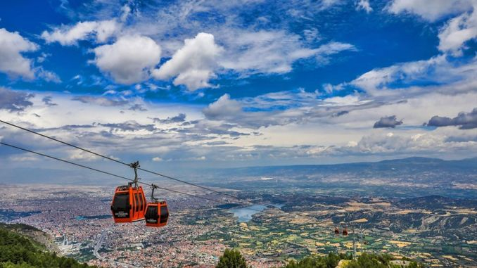 Denizli cable car and bagbasi plateau, the address of those who are tired of the heat