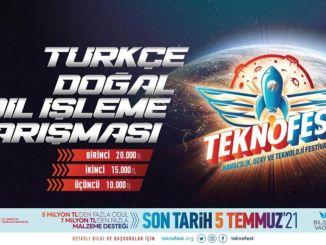 teknofest turkce dogal dil isleme yarismasi basvurulari devam ediyor