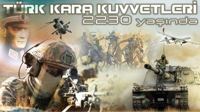عمر القوات البرية التركية
