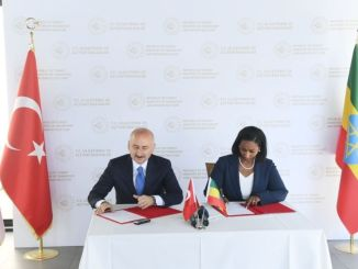 Transporto srityje tarp Turkijos ir Etiopijos buvo pasirašytas susitarimo memorandumas