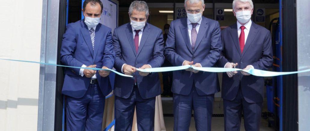 Turkey's leader in aviation engines teiden sample treatment plant