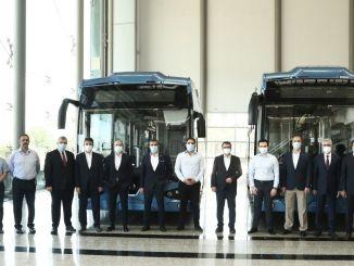 Tyrkiets første indenlandske elektriske bus kom ud af bandet