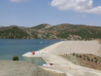 Yukarı Afrin Damm und Trinkwasserleitung wurden feierlich in Betrieb genommen