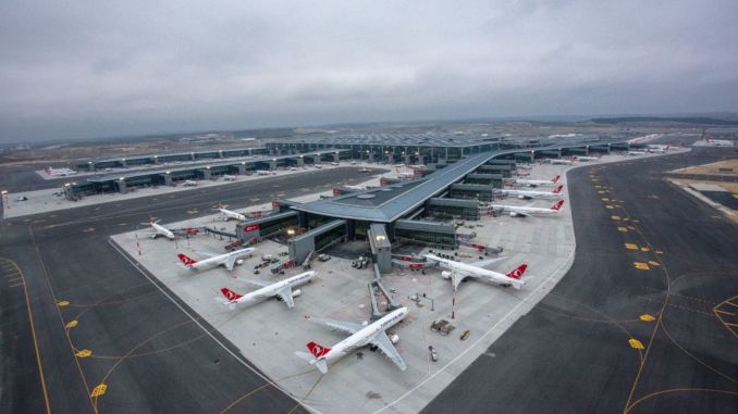 In the first six months of the year, the number of airline passengers exceeded one million.