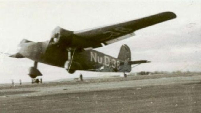 The First Turkish Aircraft Made in Istanbul Dusted on the Road to Ankara