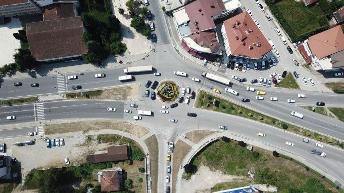 Caravan Junction Improvement Project Begins