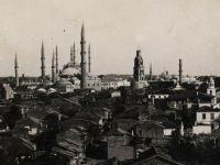 Tarihi Edirne Saat Kulesi Yikildi
