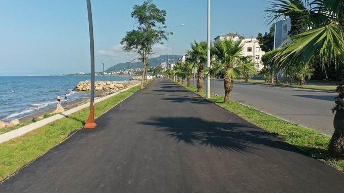 Projekt Unye Bicycle i Yuruyus Road pri kraju