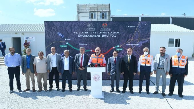Afyonkarahisar Suhut Road will be put into service in the year