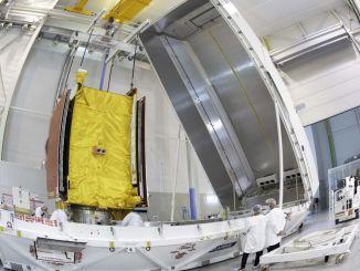 ehitatud satelliit-airbus saadeti kanderaketti