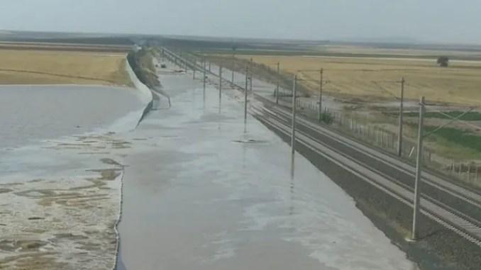 ankara konya yht flights canceled due to flood