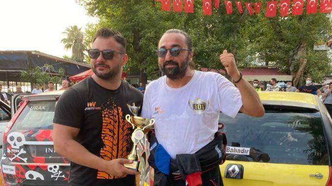Bahadir Joy took the rank even in difficult conditions