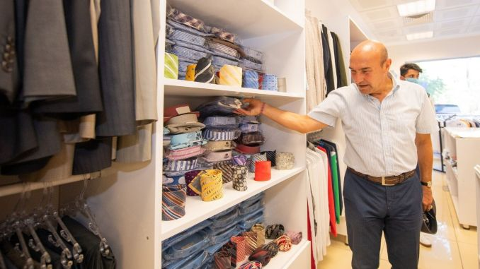 bizizmir clothing point opened for service