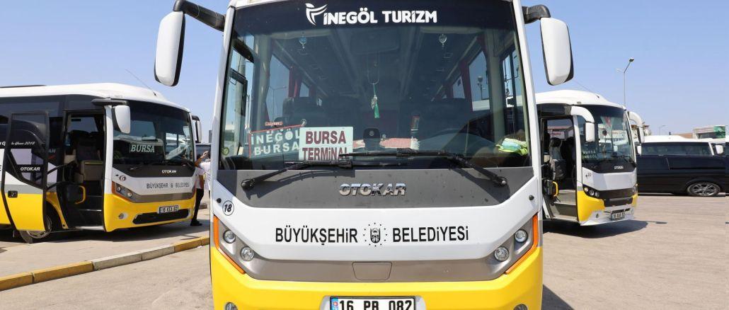 full integration in public transport in bursa