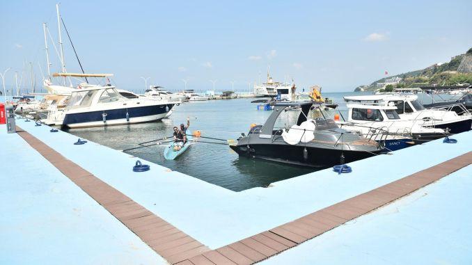 Guzelyali Yacht Harbor has been completely renewed