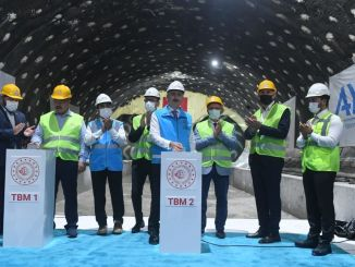Halkali sẽ là ga chung của Tàu điện ngầm Sân bay Istanbul và Marmaray.