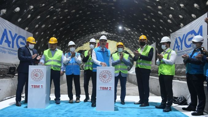 Halkali will be the joint station of Istanbul Airport Metro and Marmaray.