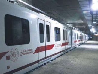 Việc xây dựng tàu điện ngầm sân bay Istanbul tiếp tục nhanh chóng