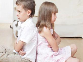 не поддерживайте соперничество братьев и сестер