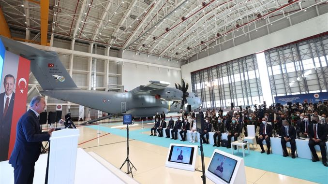 am fasbat aircraft maintenance facilities in kayseri opened with a ceremony
