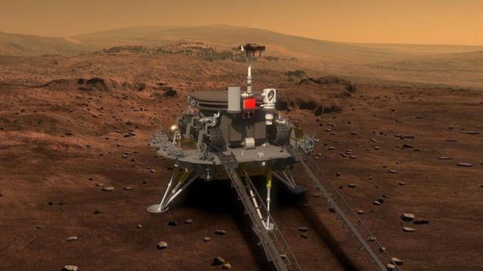 Sa pagpapatuloy ng kanyang pag-aaral sa Mars, ipinasa ni zhurong ang metro