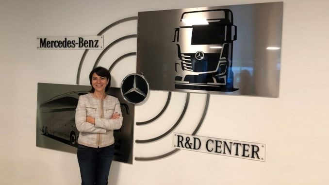 mercedes benz turk truck R & D teams are signing global projects