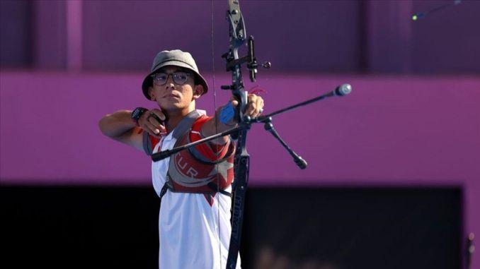 National Archer Mete Gazoz gewann eine Goldmedaille bei den Olympischen Spielen in Tokio