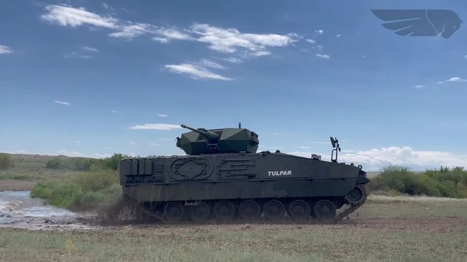 Otokar tulpar successfully completed the tests it entered in Kazakhstan