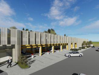 تم وضع أساس إنشاء ساحة انتظار ميكانيكية في منطقة حوض صامسون