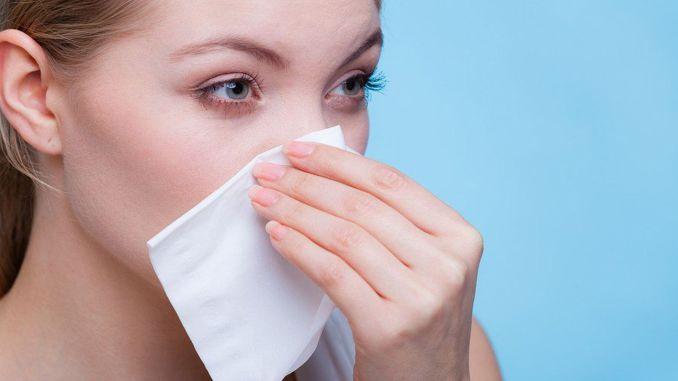 beware of nosebleeds in hot weather