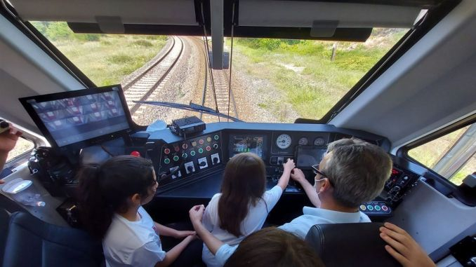 students who participated in the program I'm in the make-up program traveled by rail