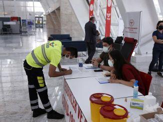 Impfungen ohne Termin werden an Bahnhöfen üblich