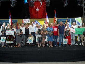 trofee rahvusvaheline kultuuri- ja rahvatantsufestival oli värvikas
