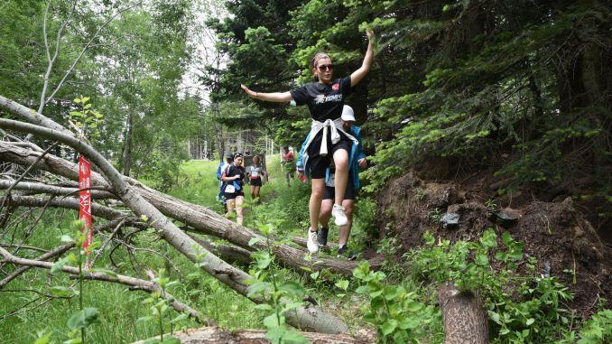 Uludag premium ultra trail marathon started at the summit