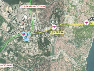 El funicular único con una estación se encontrará con el metro con el Bósforo.
