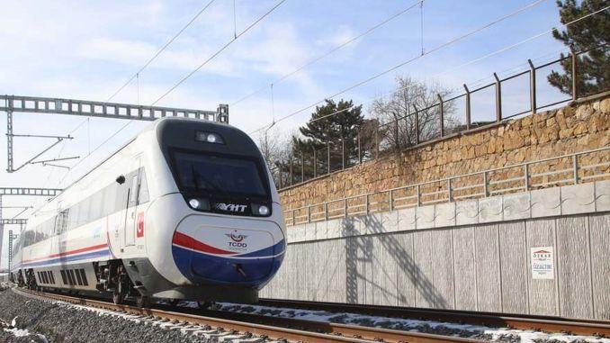 Svakodnevna probna vožnja na brzoj željezničkoj liniji Sivas u Ankari počinje danas
