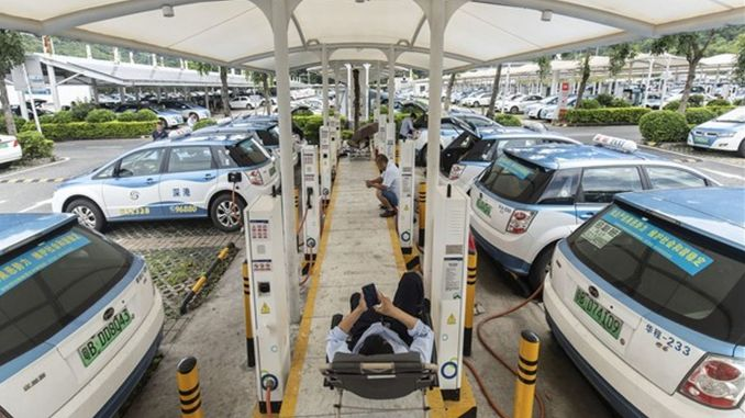 The Number of Clean Energy Vehicles Sold in the First Six Months in China Increased by Percent