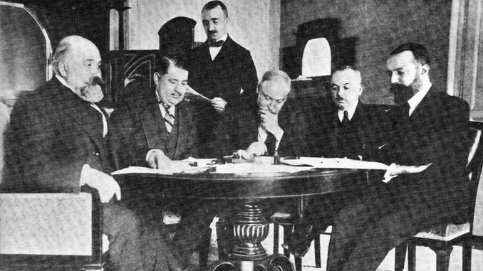 Treaty of Lausanne Entered into Force