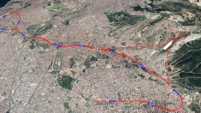 Ucyol Buca Metro MAP