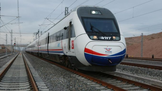 ankara sivas high speed train will go fast until kirikkale after bus