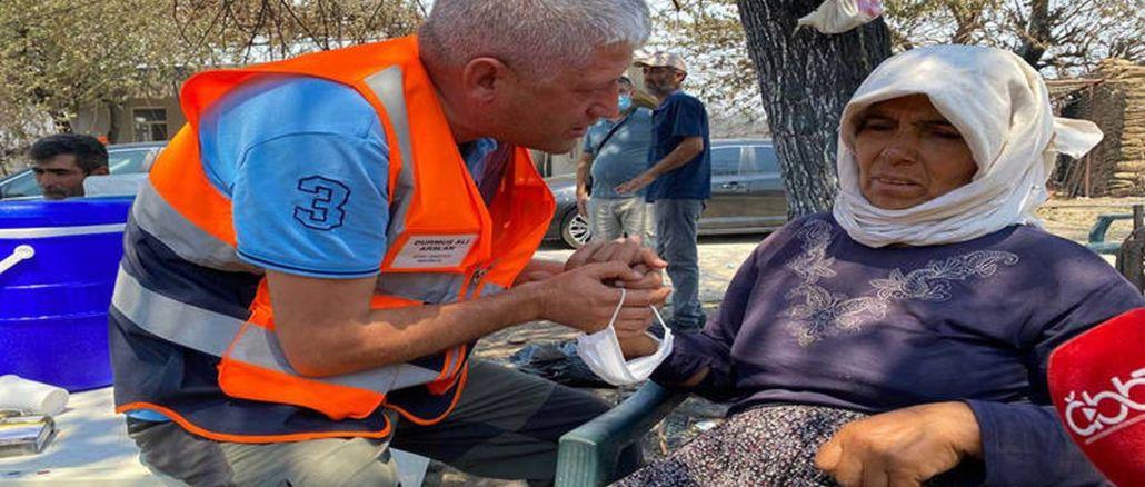 antalya buyuksehir heals wounds in the fire zone