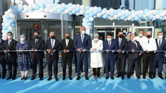 Balikesir's new cultural center was put into service