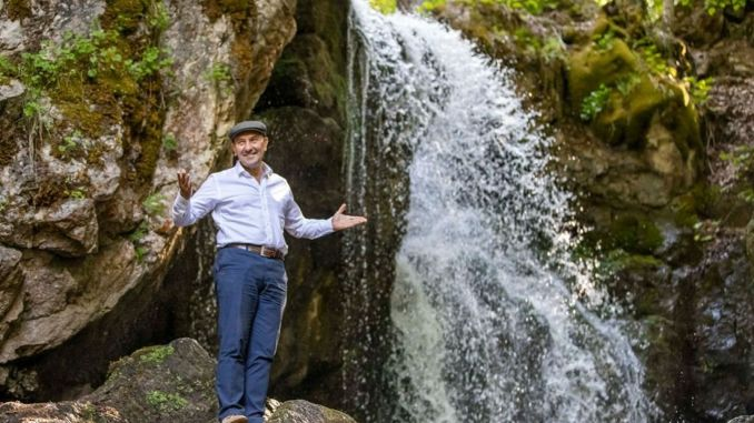 President Soyer's call for a national park for the source of the Gediz River, Murat Mountain