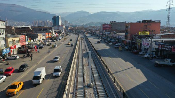 bursa t tramvay hatti elektromekanik işleri icin milyon lira kredi